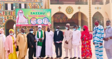 Courtesy visit to Zazzau Emirate